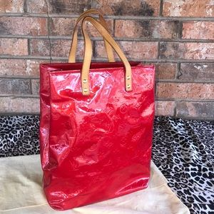 CERTIFIED AUTHENTIC LV Vernis Reade MM Tote
